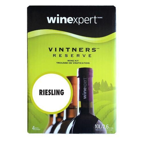 Winexpert Vintner's Reserve Riesling Wine Recipe 6 gallon Kit - Homebrew Supplies in Vermont
