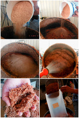 Make supplemented sawdust