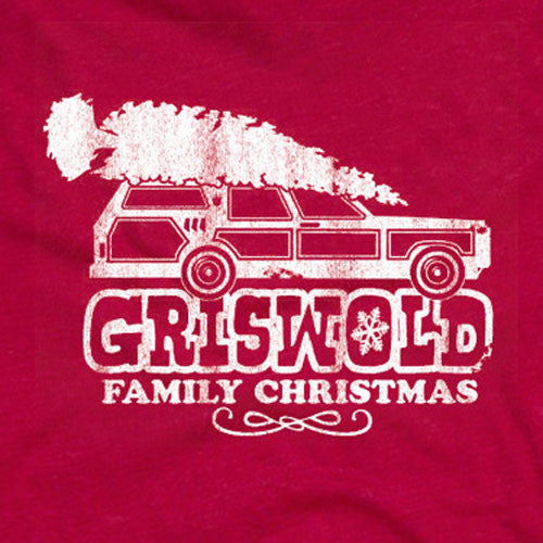 Griswold Family Christmas Red Tee
