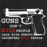 guns don't kill people tee
