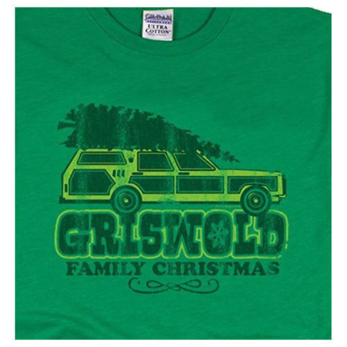 griswold family christmas green tee