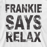 frankie says relax tee