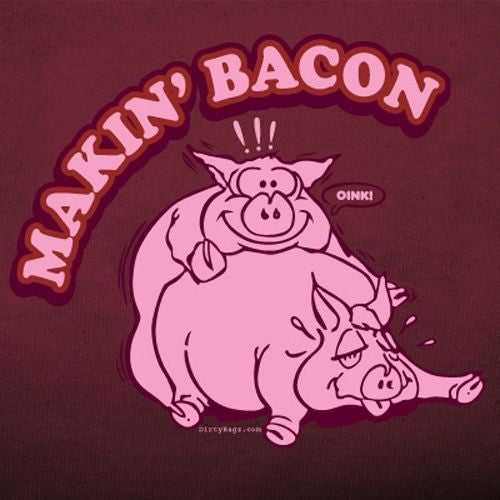 makin bacon tee