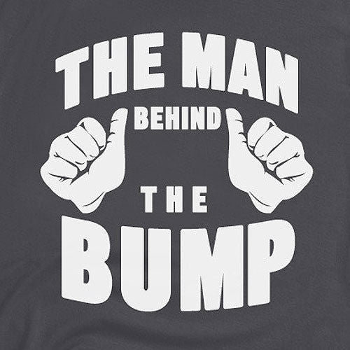 man behind the bump tee