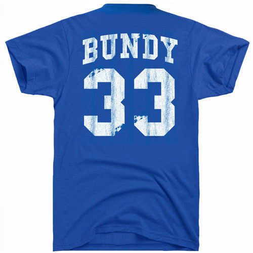 al bundy 33 blue tee