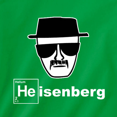HEISENBERG BREAKING BAD GREEN T-SHIRT