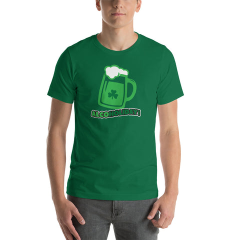 irish flag clover tee