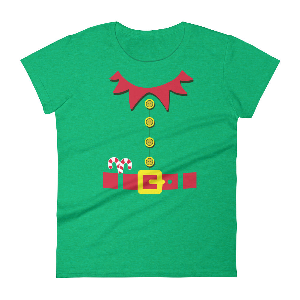 women's elf costume tee