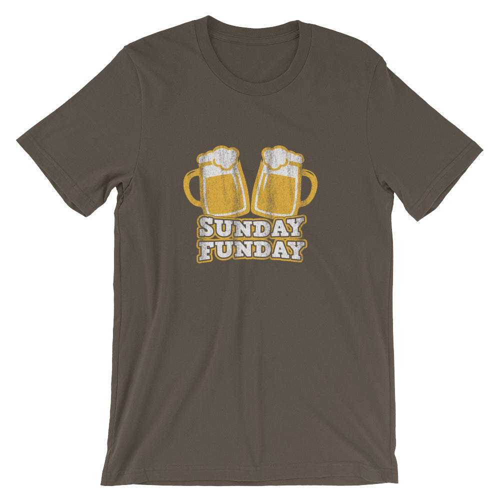 sunday funday beer tee