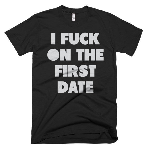 i f' on the first date tee