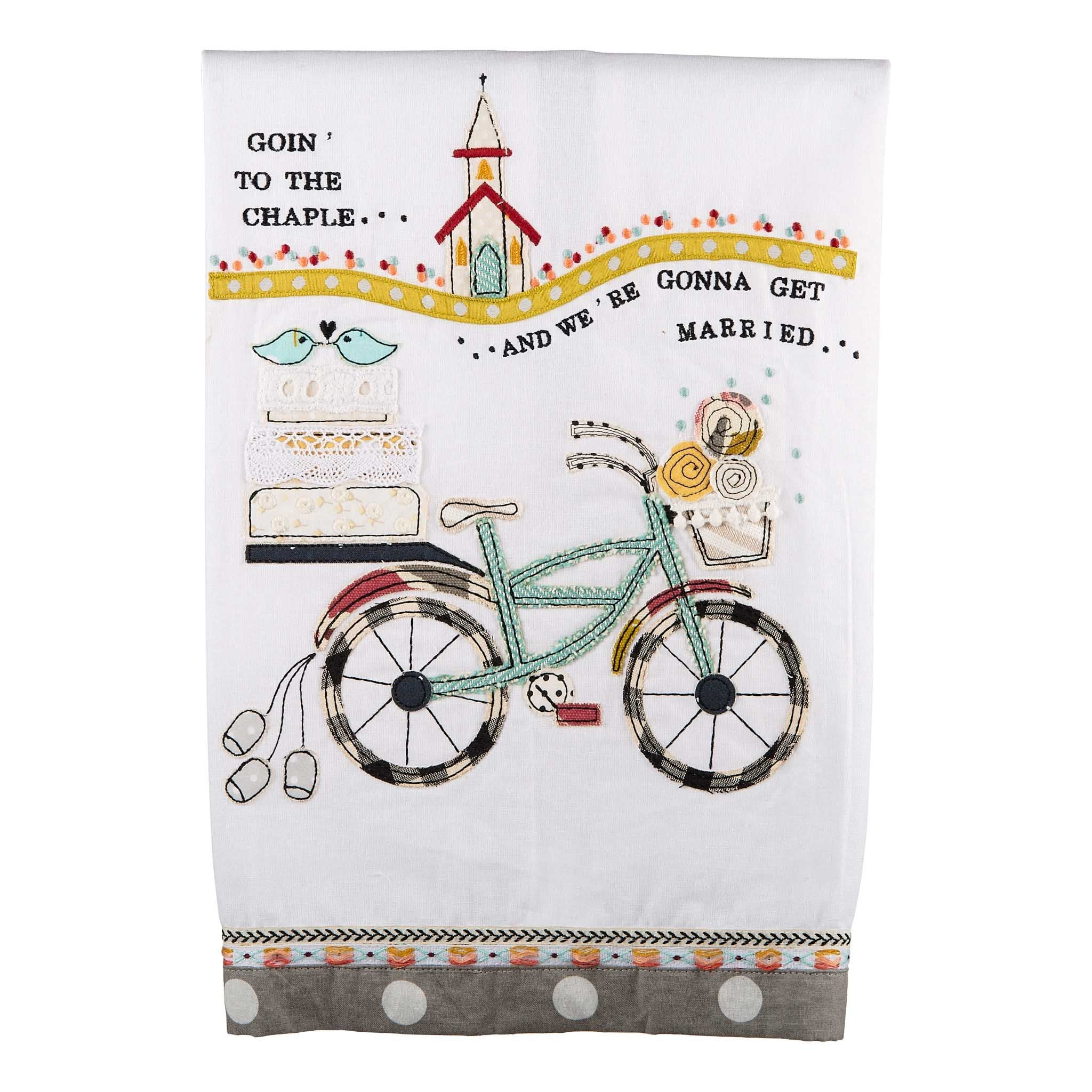 Goin' To The Chapel | Glory Haus Tea Towel Kitchen/Home Goods - Fair Trade - Mercy House Global