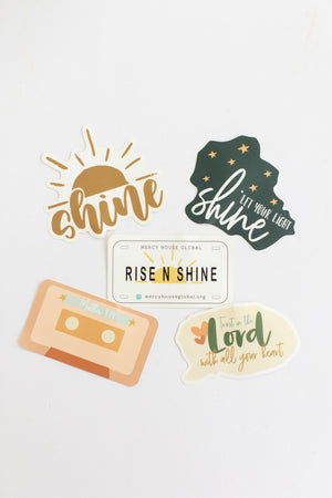 Shine Sticker Bundle | Set of 5