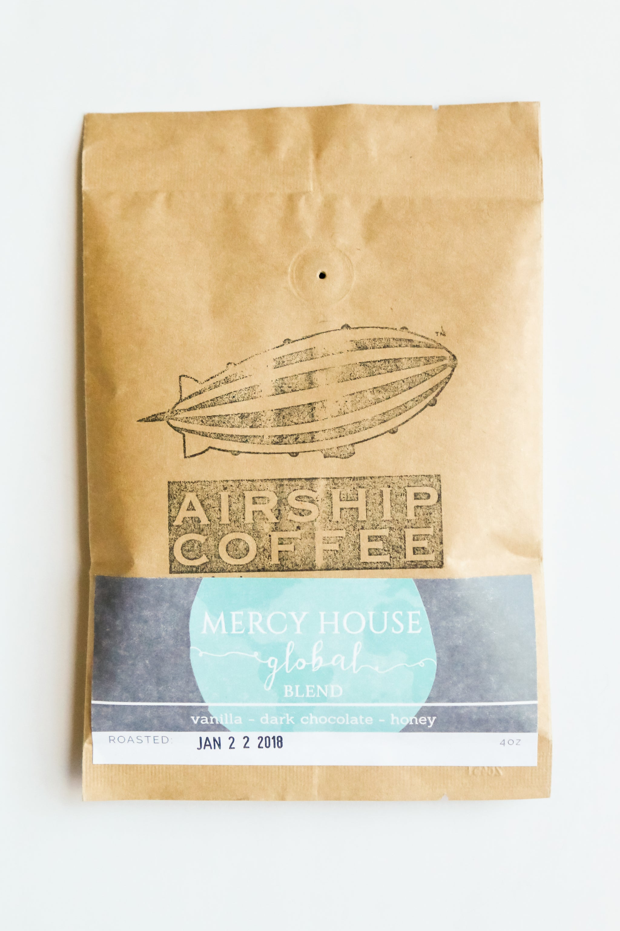 Mercy House Coffee Blend | Ground Airship Coffee - Fair Trade - Mercy House Global