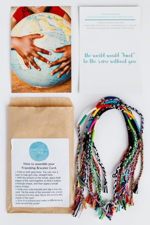 Friendship Bracelet Kits jewelry - Fair Trade - Mercy House Global