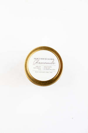 Chamomile Candle | 3 oz. Gold Tin