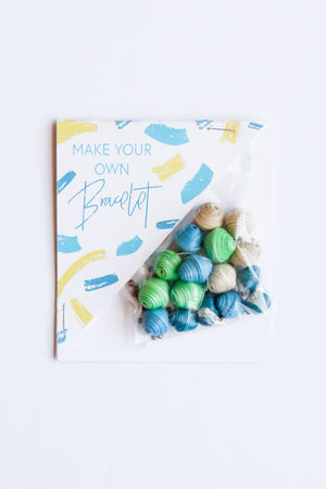Make Your Own Bracelet Kit Kids - Fair Trade - Mercy House Global