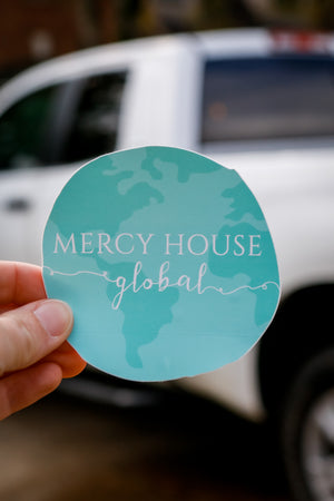 Mercy House Global Decal Sticker