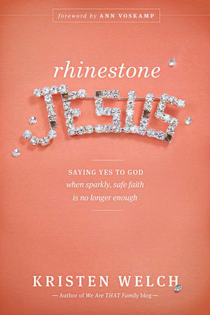 Rhinestone Jesus Book | Autographed Copy Book - Fair Trade - Mercy House Global