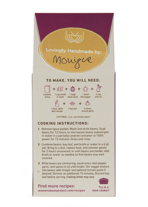 Women's Bean Project Soup Mix | Black Bean Soup - Fair Trade - Mercy House Global