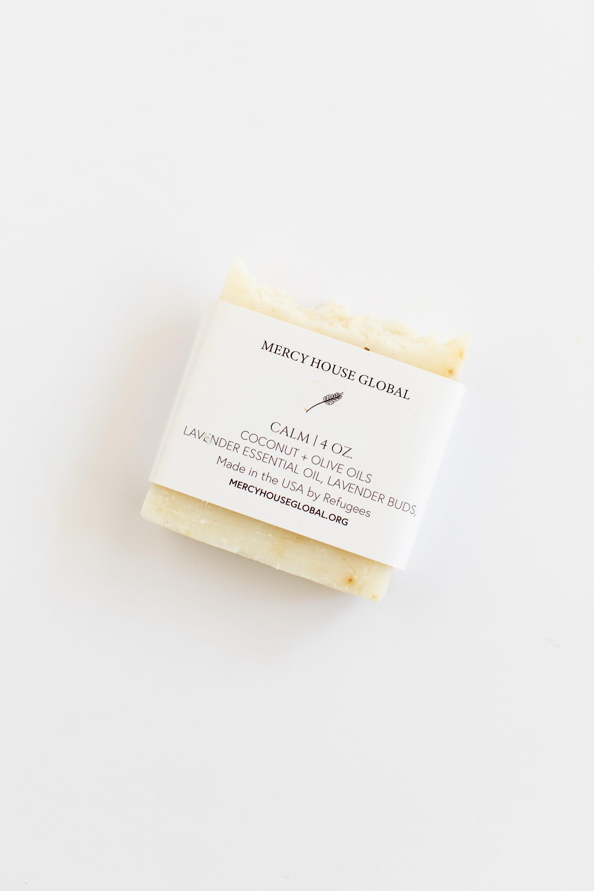 Calm | 4 oz. Lavender + Coconut Soap Bar