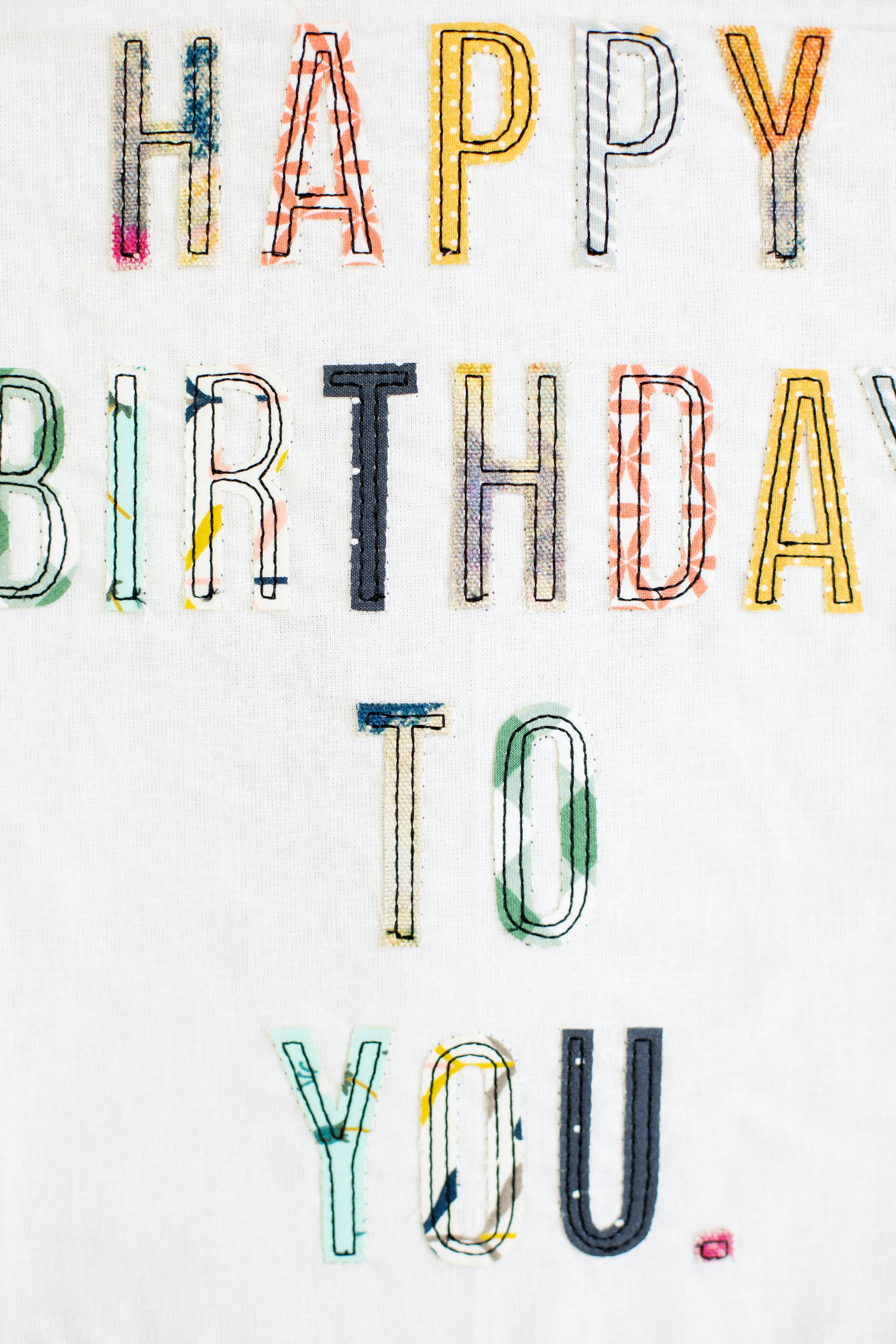 Happy Birthday to You | Glory Haus Tea Towel Kitchen/Home Goods - Fair Trade - Mercy House Global