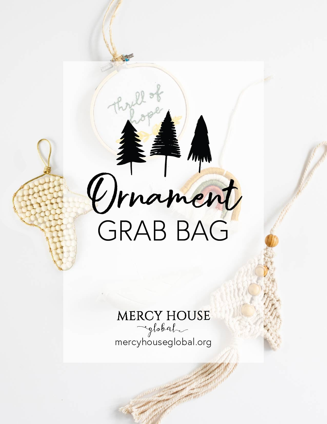 Ornament Grab Bags | 3 of your favorite Fair Trade Christmas Ornaments Grab Bag - Fair Trade - Mercy House Global