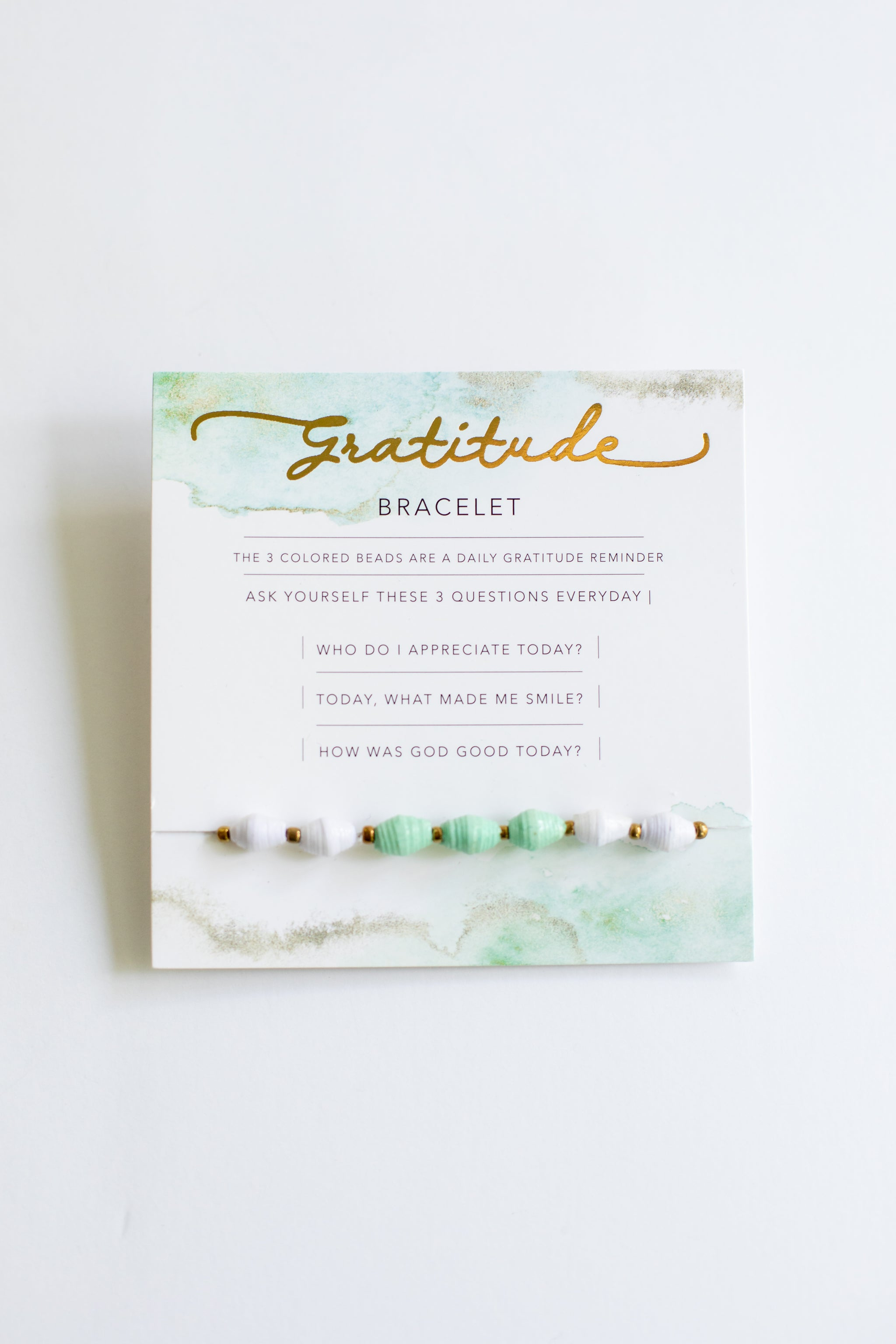 Gratitude Bracelet Bracelet - Fair Trade - Mercy House Global