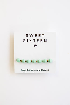 New! Milestone Birthday Bracelets