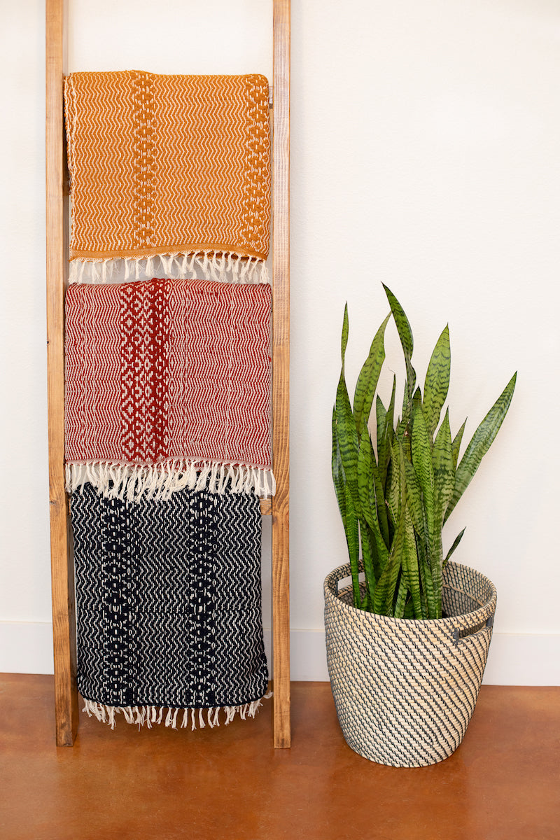 Miujiza Hand-Loomed Cotton Throws | 4' x 6' Rugs - Fair Trade - Mercy House Global