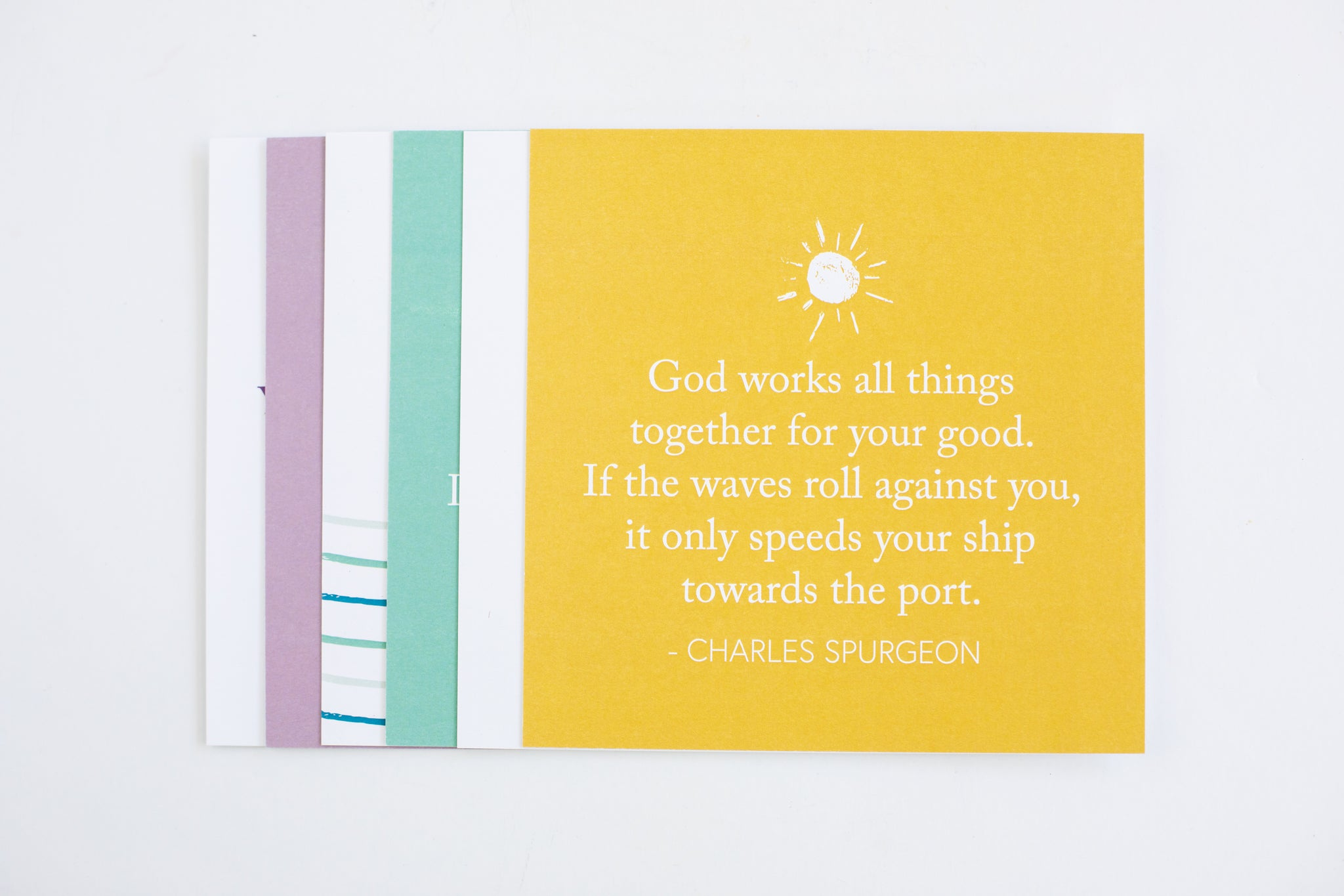 Scripture Cards Stationery - Fair Trade - Mercy House Global