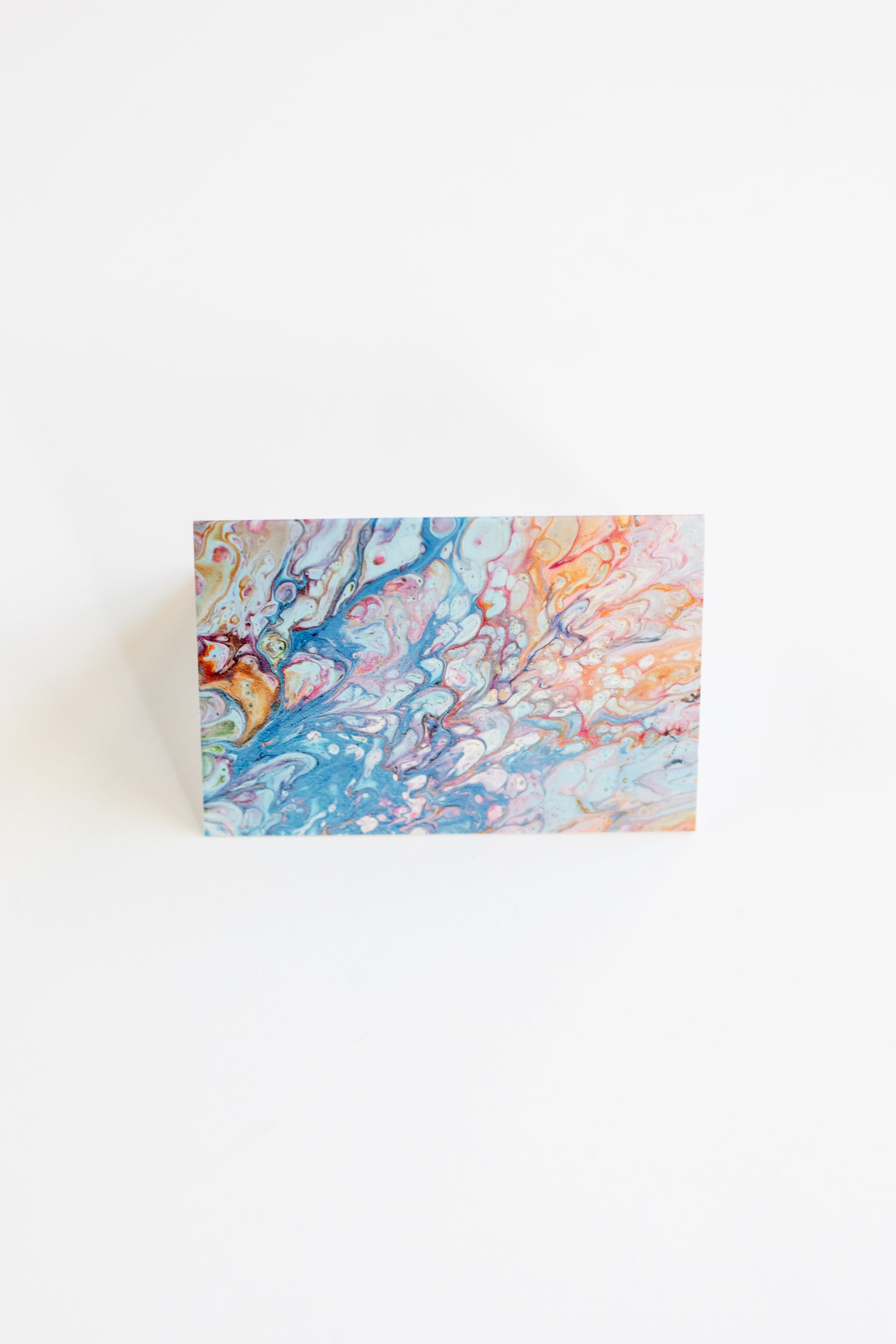 Sanaa Marble Mini Card Set | 20 Mini Cards + Envelopes Stationery - Fair Trade - Mercy House Global