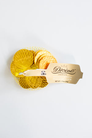 Divine Chocolate Coins
