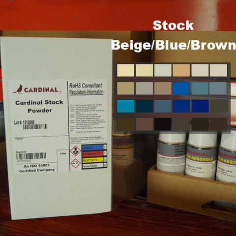 Cardinal Beige/Blue/Brown