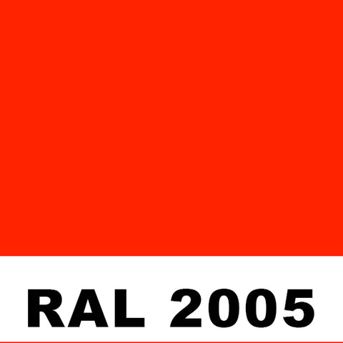 RAL2005 Luminous Orange Powder