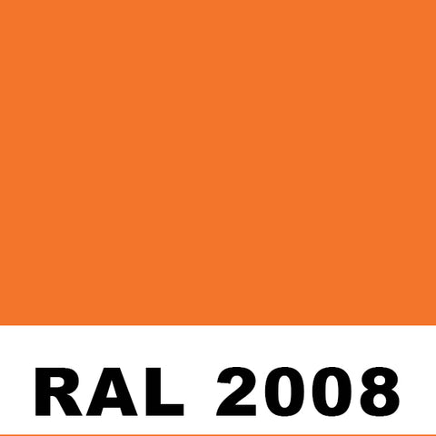 RAL2008 Bright Red Orange Powder
