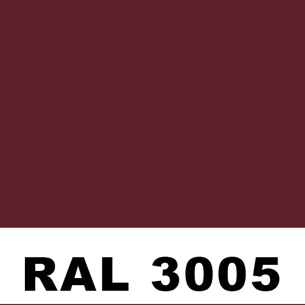 RAL3005 Wine Red Powder
