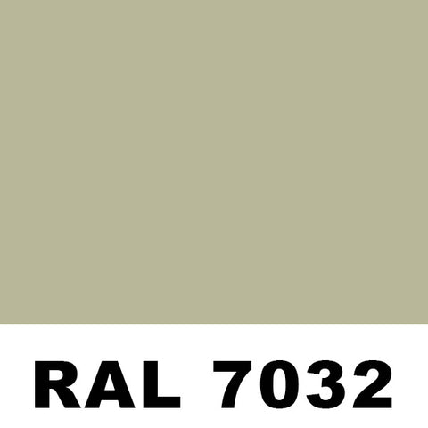 RAL7032 Pebble Gray Powder