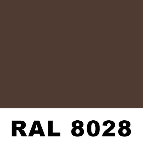 RAL8028 Terra Brown Powder