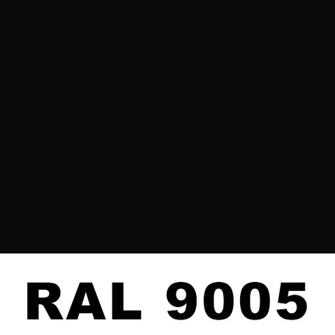 RAL9005 Jet Black Powder