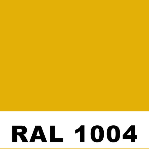 RAL 1004 Golden Yellow Aerosol