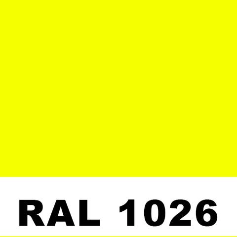 RAL 1026 Luminous Yellow Aerosol