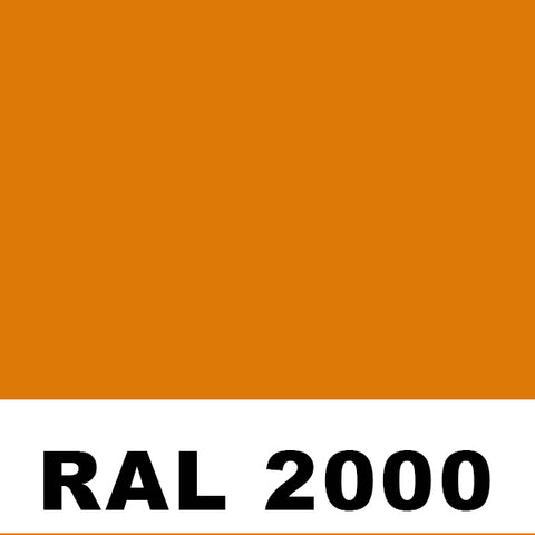RAL 2000 Yellow Orange Aerosol