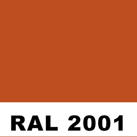 RAL 2001 Red Orange Aerosol