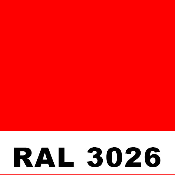 RAL 3026 Luminous Bright Red Aerosol
