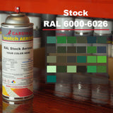 RAL K7 Classic 6000-6026