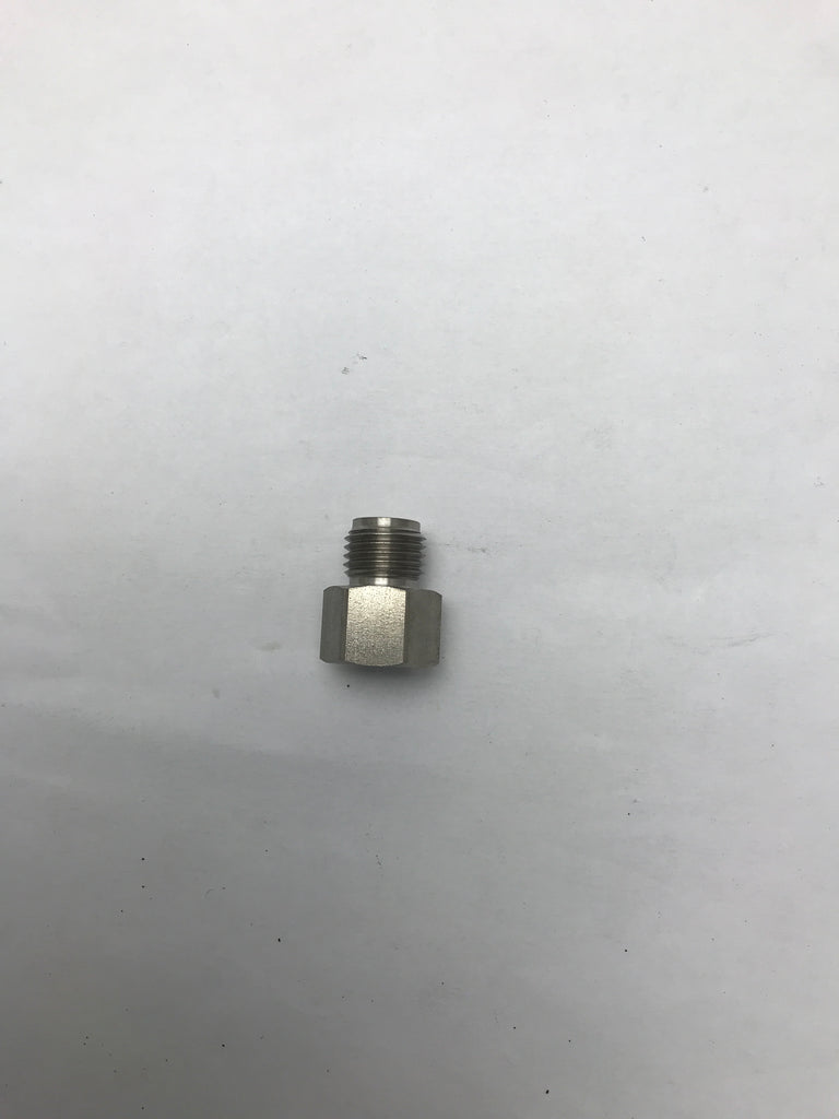 "050-123-304 X-Cite Gun Adapter to Convert #5 JIC to 1/4"" NPS"