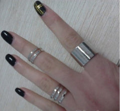3Pcs/Set Fashion Open Ring