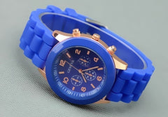 Unisex Silicone Sports Watch