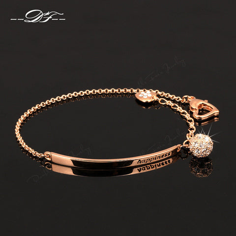 Diamond Ball Fashion Party Charm Bracelet