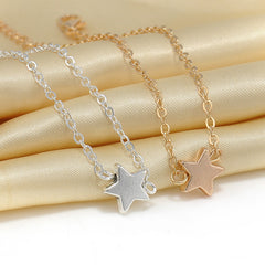 2pcs Simple Star Chain Charm Bracelet